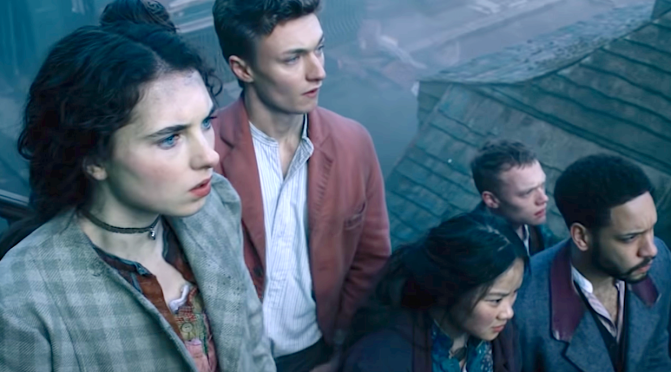 THE IRREGULARS (2021): New Trailer Starring  Thaddea Graham, Darci Shaw, Jojo Macari…