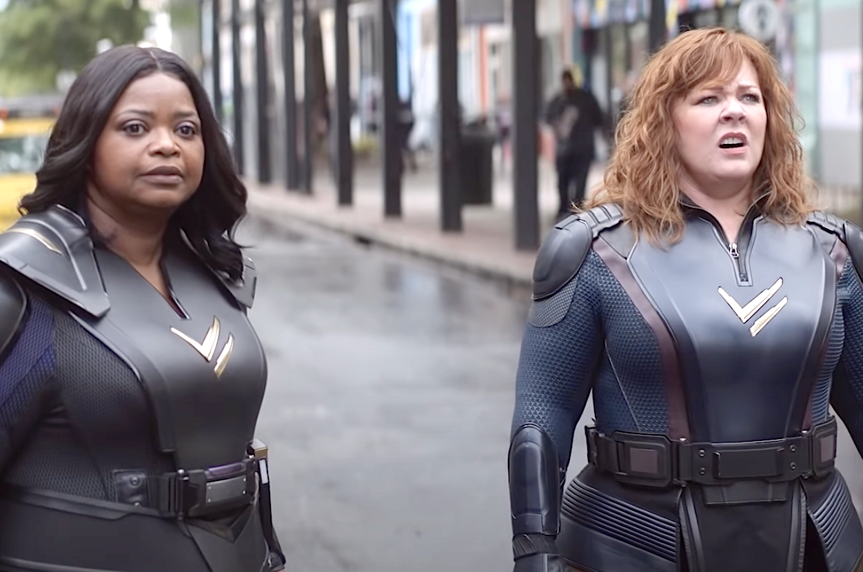 Thunder Force (2021), Octavia Spencer, Melissa McCarthy, Netflix