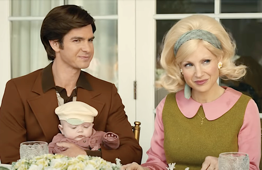 The Eyes of Tammy Faye (2021), Andrew Garfield, Jessica Chastain, Searchlight Pictures